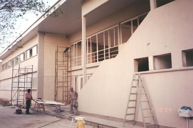 Construcción de la escuela EGB Nº 7