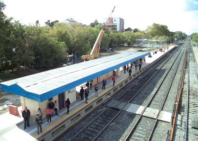 Elevación de Andenes Linea San Martín Etapa 2 Fase 1