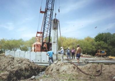 Construcción de Muelle Isla Paulino