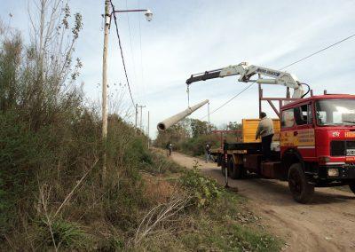 Mejoramiento del Servicio Eléctrico e Iluminación, Cañuelas