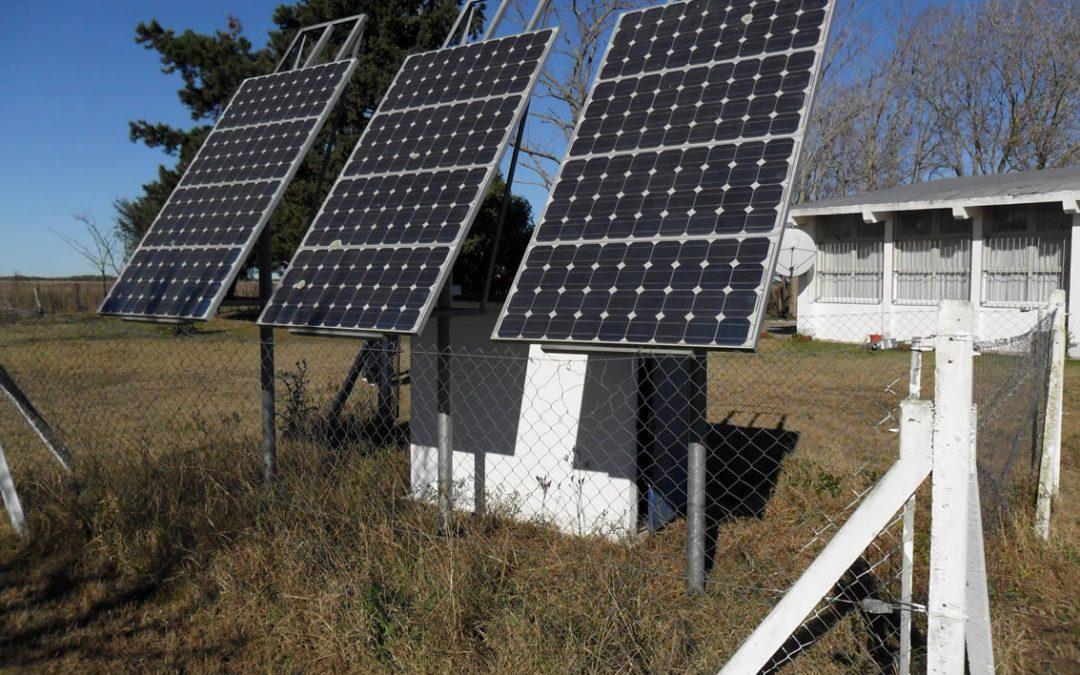 Paneles  Solares en escuelas Rurales de la Prov. de Bs. As.